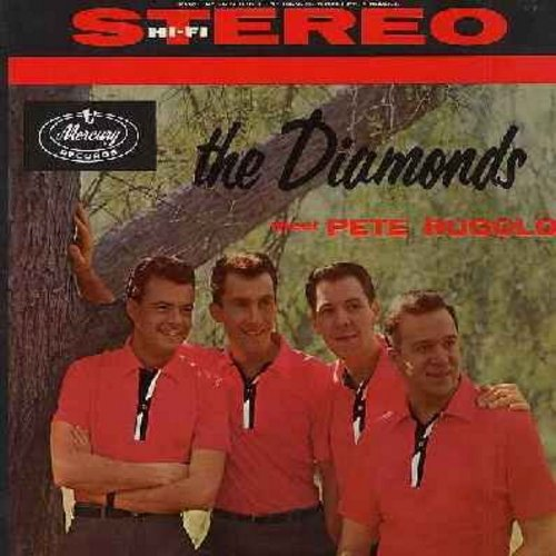 Diamonds - The Diamonds Meet Pete Rugolo: Ain't Misbehavin', For All We Know, One For My Baby (And One More For The Road), You'll Never Walk Alone, Lulu's Back In Town (Vinyl STEREO LP record) - EX8/VG7 - LP Records