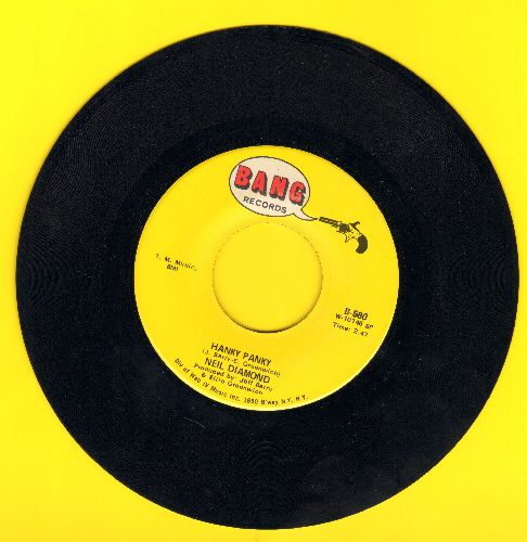 Diamond, Neil - Hanky Panky/Do It! - NM9/ - 45 rpm Records