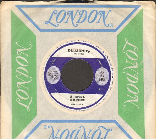 Harris, Jet & Tony Meehan - Diamonds/Footstomp (with London company sleeve) - EX8/ - 45 rpm Records