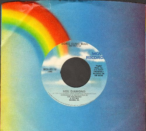 Diamond, Neil - Song Sung Blue/Gitchy Goomy (re-issue with MCA company sleeve) - NM9/ - 45 rpm Records