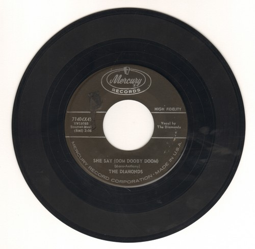 Diamonds - She Say (Oom Dooby Doom)/From The Bottom Of My Heart - VG7/ - 45 rpm Records