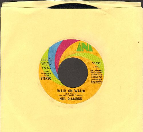 Diamond, Neil - Walk On Water/High Rolling Man - NM9/ - 45 rpm Records