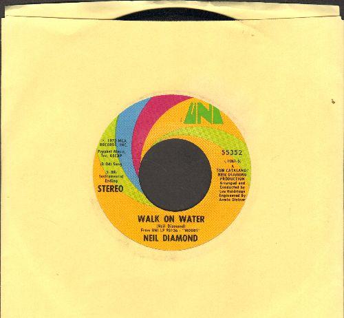 Diamond, Neil - Walk On Water/High Rolling Man - NM9/ - 45 rpm Records
