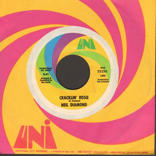 Diamond, Neil - Cracklin' Rosie/Lordy - NM9/ - 45 rpm Records