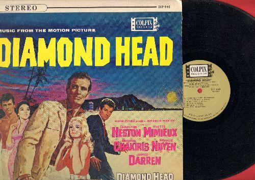 Diamond Head - Diamond Head - Original Motion Picture Sound Track featuring Theme Song by James Darren (Vinyl LP record, RARE STEREO pressing) - EX8/VG7 - LP Records