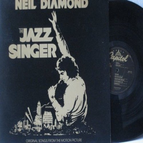 Diamond, Neil - The Jazz Singer: America, Hello Again, Jerusalem, Love On The Rocks (Vinyl LP record, gate-fold cover) - VG7/VG7 - LP Records