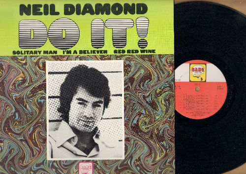 Diamond, Neil - Do It!: Solitary Man, Red Red Wine, I'm A Believer, The Boat That I Row, Love To Love, Someday Baby (Vinyl LP record) - EX8/VG7 - LP Records