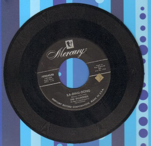 Diamonds - Ka-Ding-Dong/Soft Summer Breeze - VG7/ - 45 rpm Records