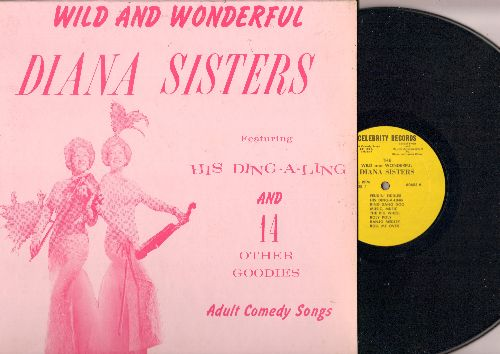Diana Sisters - Wild And Wonderful - Featuring His Ding-A-Ling and 14 Other Goodies (Adult Comedy Songs) (Vinyl LP record) - EX8/NM9 - LP Records