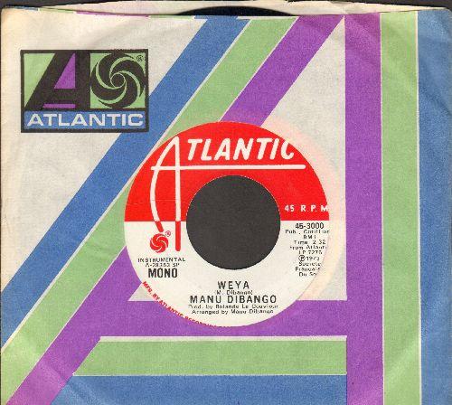 Dibango, Many - Weya (RARE doube-A-sided DJ advance pressing with Atlantic company sleeve) - NM9/ - 45 rpm Records