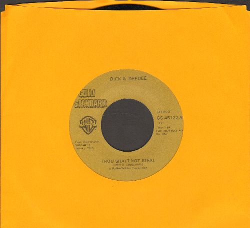 Dick & Dee Dee - Thou Shalt Not Steal/Young And In Love (double-hit re-issue) - NM9/ - 45 rpm Records
