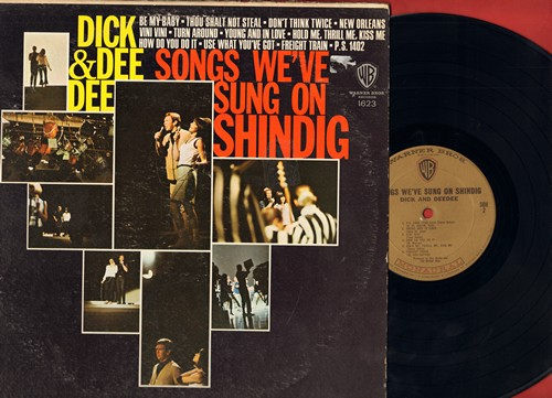 Dick & Dee Dee - Songs We've Sung On Shindig: Be My Baby, Thou Shalt Not Steal, Turn Around, How Do You Do It (Vinyl MONO LP record) - NM9/VG7 - LP Records