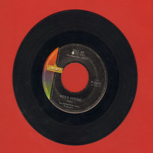 Dick & Dee Dee - Tell Me/Will You Always Love Me  - VG7/ - 45 rpm Records
