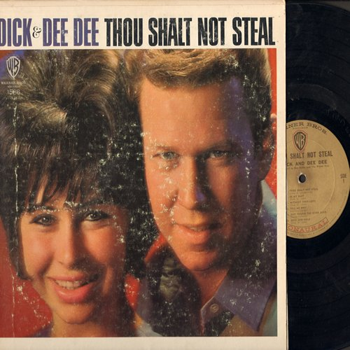 Dick & Dee Dee - Thou Shalt Not Steal: Be My Baby, How Do You Do It, Wee-Oop, Tell Me Why, Remember When, Where Did The Good Times Go (Vinyl MONO LP record) - VG7/VG6 - LP Records
