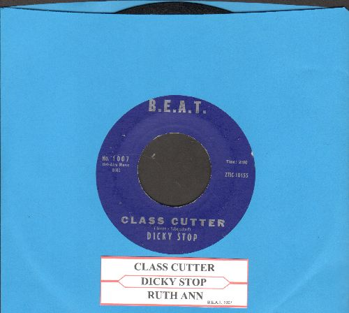 Stop, Dickey - Class Cutter/Ruth Ann (with juke box label) - VG7/ - 45 rpm Records