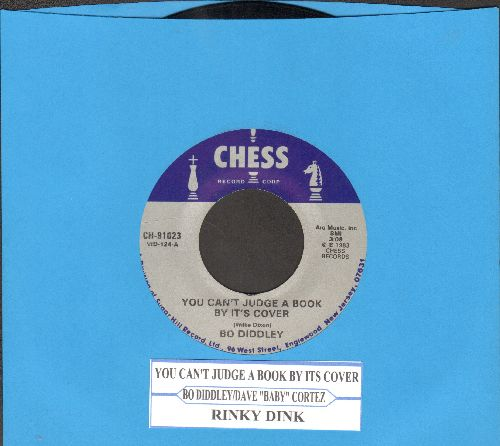 Diddley, Bo - You Can't Judge A Book By Its Cover/Rinky Dink (by Dave 'Baby' Cortez (double-hit re-issue with juke box label) - NM9/ - 45 rpm Records