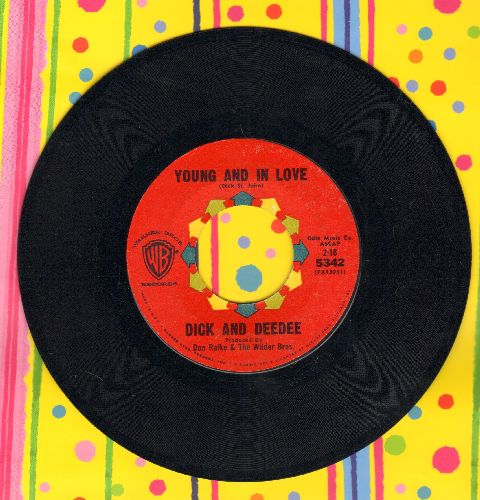 Dick & Dee Dee - Young And In Love/Say To Me  - NM9/ - 45 rpm Records