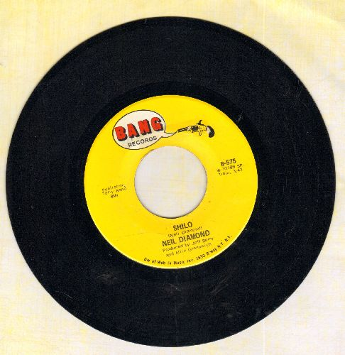 Diamond, Neil - Shilo/La Bamba - NM9/ - 45 rpm Records