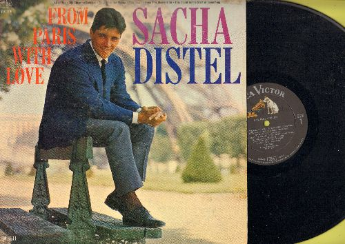 Distel, Sacha - From Paris With Love: Let's Fall In Love, Do It Again, Cheek To Cheek, 'S Wonderful, People Will Say We're In Love (vinyl MONO LP record, DJ advance pressing) - NM9/VG6 - LP Records