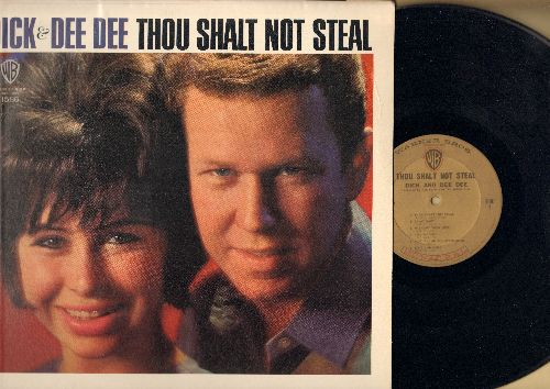 Dick & Dee Dee - Thou Shalt Not Steal: Be My Baby, How Do You Do It, Wee-Oop, Tell Me Why, Remember When, Where Did The Good Times Go (Vinyl MONO LP record, NICE condition) - EX8/EX8 - LP Records