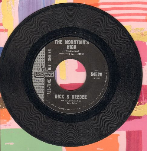 Dick & Dee Dee - The Mountain's High/Tell Me (authentic looking early re-issue) - EX8/ - 45 rpm Records