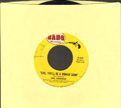 Diamond, Neil - Girl, You'll Be A Woman Soon/You'll Forget - VG7/ - 45 rpm Records