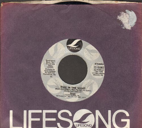 Dion - Fire In The Night/Street Mama (with Lifesong company sleeve) - NM9/ - 45 rpm Records