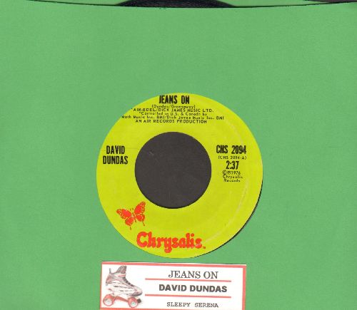 Dundas, David - Jeans On (I Pull My Old Blue Jeans On)/Sleepy Serena (with juke box label) - NM9/ - 45 rpm Records