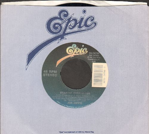 Diffie, Joe - Startin' Over Blues/Just A Regular Joe (with Epic company sleeve) - NM9/ - 45 rpm Records