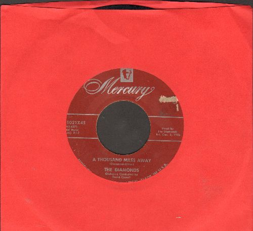 Diamonds - A Thousand Miles Away/Ev'ry Minute Of The Day - EX8/ - 45 rpm Records