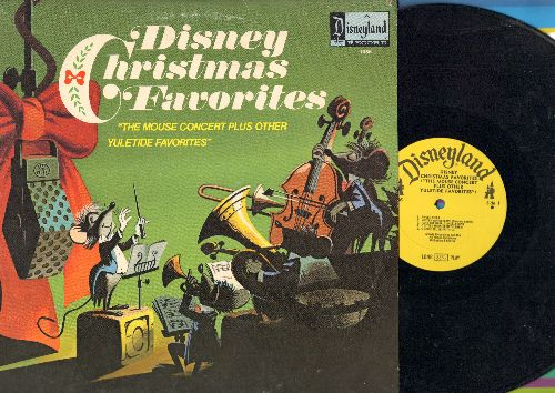 Disney - Disney Christmas Favorites - The Mouse Concert plus other Yule Tide Favorites (vinyl LP record) - EX8/EX8 - LP Records