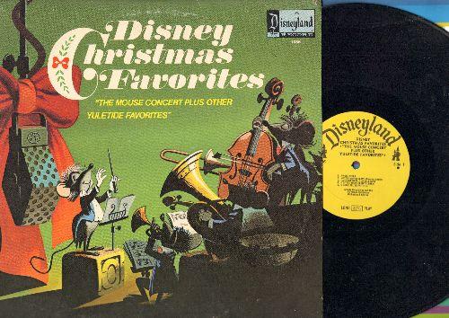 Disney - Disney Christmas Favorites - The Mouse Concert plus other Yule Tide Favorites (vinyl LP record) - EX8/EX8 - LP Records