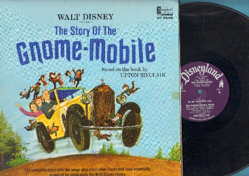 Disney - The Story Of The Gnome-Mobile - Based on the book by Upton Sinclair (vinyl STEREO LP record, gate-fold cover with picture pages) - EX8/VG7 - LP Records