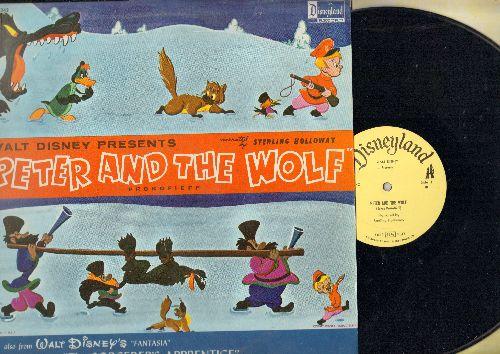 Disney - Peter And The Wolf/The Sorcerer's Apprentice (vinyl MONO LP record) - NM9/EX8 - LP Records