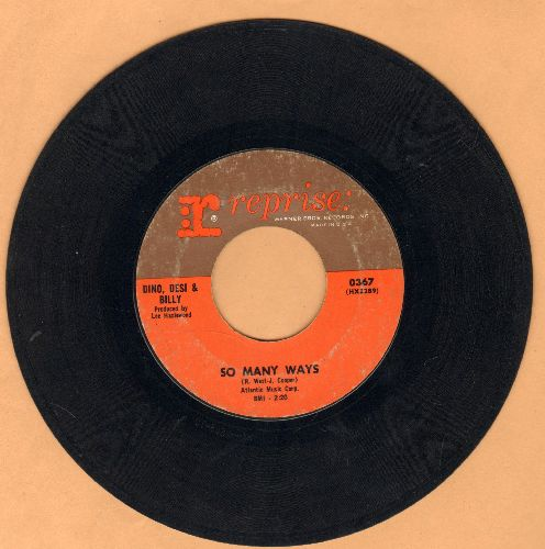 Dino, Desi & Billy - I'm A Fool/So Many Ways (sol) - VG6/ - 45 rpm Records