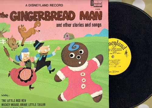 Disney - The Gingerbread Man and other stories and songs (Vinyl MONO LP record) - EX8/EX8 - LP Records
