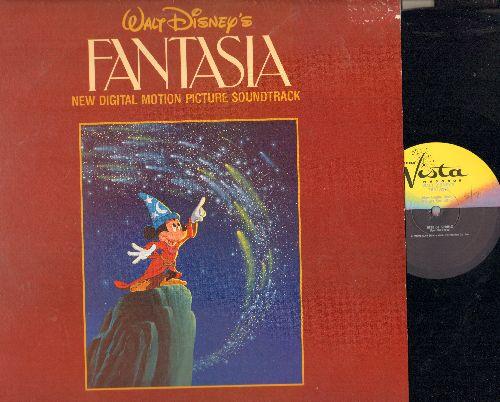 Disney - Fantasia - New 1982 Digital Sound Track on 2 vinyl LP records. - NM9/EX8 - LP Records