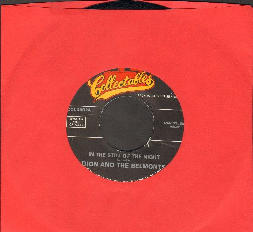 Dion & The Belmonts - In The Still Of The Night/I Can't Go On (Rosalie) (double-hit re-issue) - EX8/ - 45 rpm Records