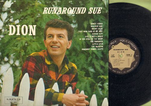 Dion - Runaround Sue: Dream Lover, Life Is But A Dream, Little Star, Take Good Care Of My Baby (vinyl MONO LP record) - NM9/NM9 - LP Records