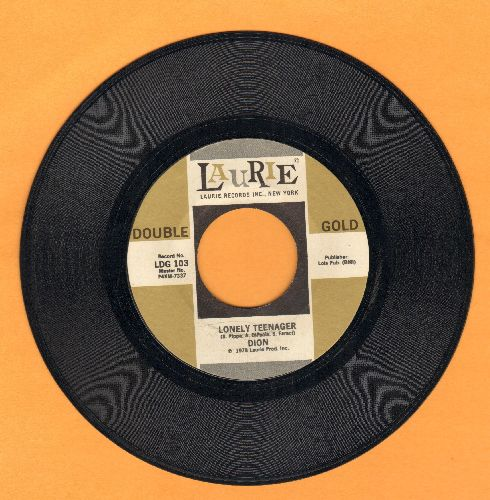 Dion - Lonely Teenager/Little Diane (double-hit re-issue) - NM9/ - 45 rpm Records