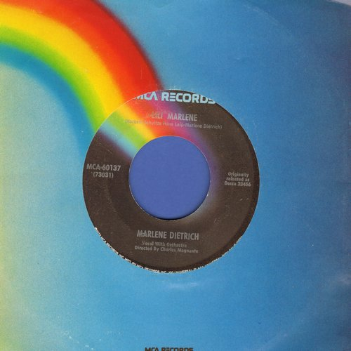 Dietrich, Marlene - Lili Marlene/Symphonie (re-issue with MCA company sleeve) - EX8/ - 45 rpm Records
