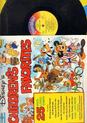 Disney - Children's Favorites Vol. 1 - 25 Best Loved Songs (Vinyl STEREO LP record) - EX8/EX8 - LP Records