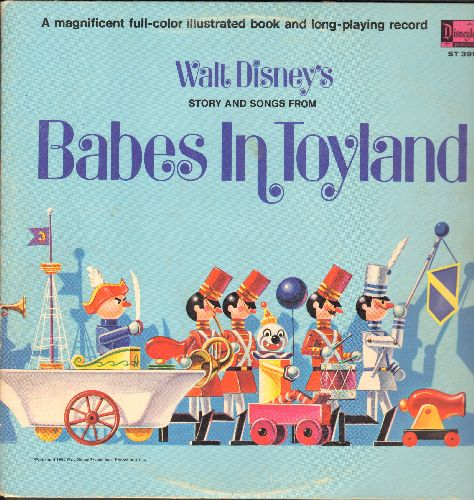 Disney - Babes In Toyland - All the original songs and music. Vinyl STEREO LP record, alternate gate-fold cover with picture pages.  - EX8/VG7 - LP Records