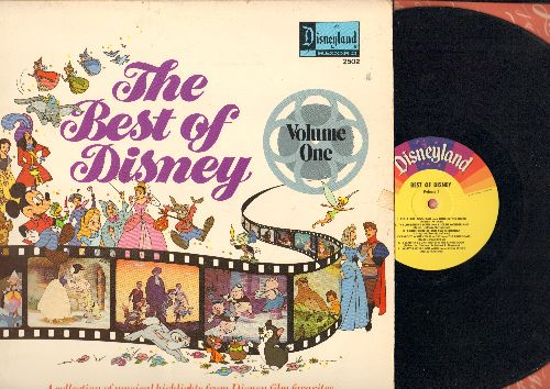 Disney - Best Of Disney Vol. 1: Zip-A-Dee-Doo-Dah!, Bibbidi-Bobbidi-Boo, The Bare Necessities, It's A Small World (Vinyl MONO LP record) - VG7/VG7 - LP Records