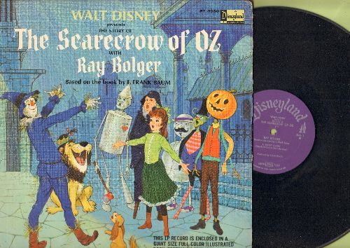 Disney - The Scarecrow Of Oz - Story based on book by L. Frank Baum, with Ray Bolger (vinyl STEREO LP record with full-color illustrated pages, gate-fold cover) - VG7/VG7 - LP Records