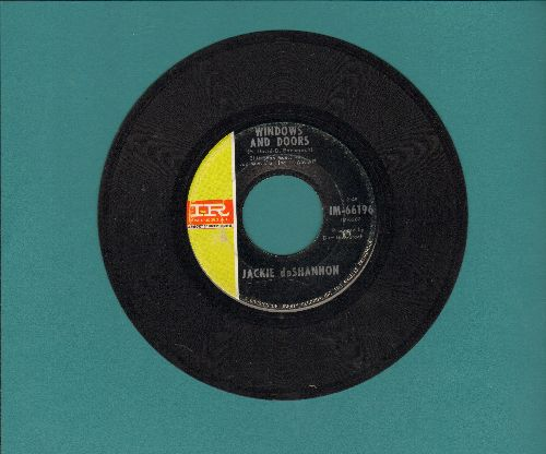 DeShannon, Jackie - Windows And Doors/So Long Johnny (bb) - EX8/ - 45 rpm Records