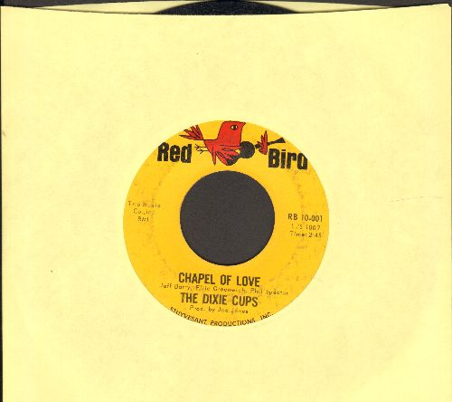 Dixie Cups - Chapel Of Love (Going To The Chapel, Gonna Get Married)/Ain't That Nice (minor wol) - EX8/ - 45 rpm Records
