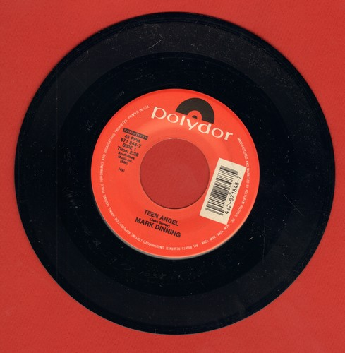 Dinning, Mark - Teen Angel/Bye Now Baby (re-issue) - EX8/ - 45 rpm Records