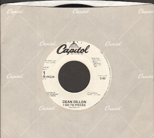 Dillon, Dean - I Go To Pieces (double-A-sided DJ advance copy with Capitol company sleeve) - M10/ - 45 rpm Records