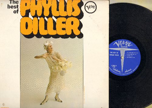 Diller, Phyllis - The Best Of: The Way I Dress, Beadcraft, Tightwad Airlines, Lipstick, Plastic Surgery, more! (Vinyl MONO LP record) - NM9/VG7 - LP Records
